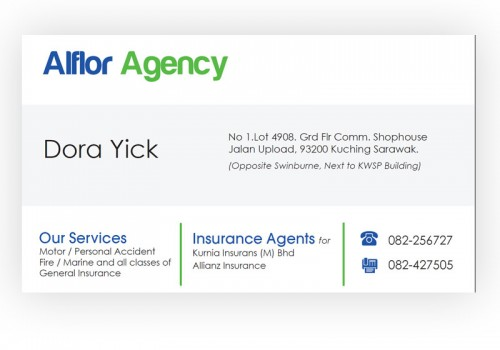 Alflor Agency – Image Redesign