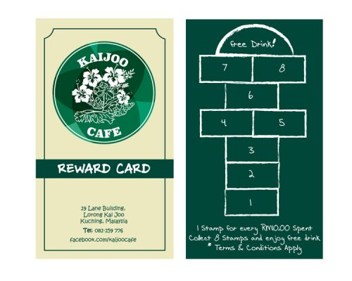 Kaijoo Cafe – Loyalty Card